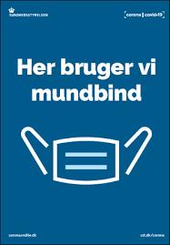 Brug mundbind Nyhed billede