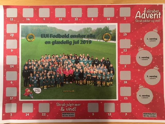 EUI Julekalenderen 2019 nyheds billede